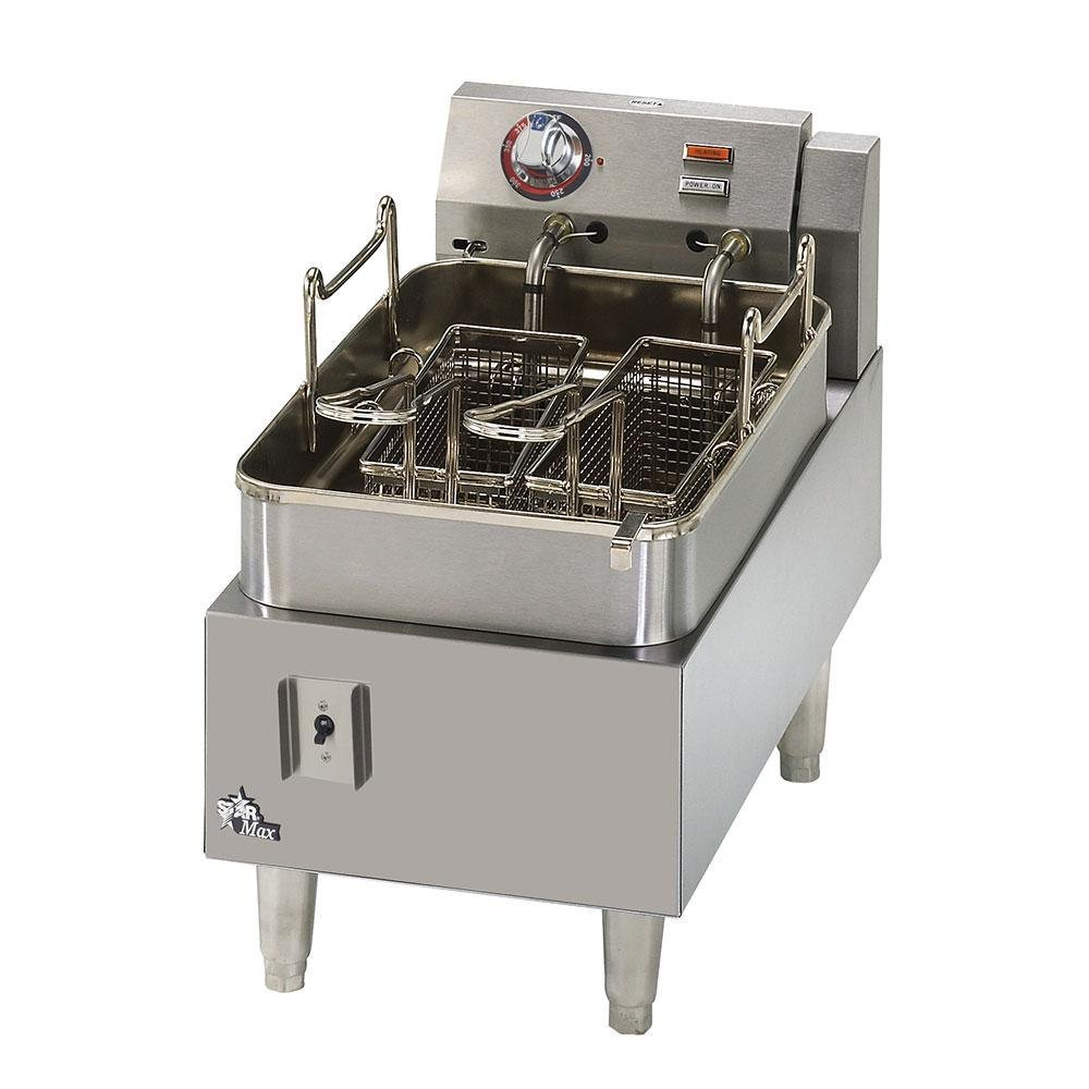Star Max 515F 15 Pound Commercial Countertop Deep Fryer 5750W
