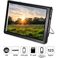 "Fosa Portable ATSC 7"" 9"" 10"" 12"" 16:9 Digital Television TV TFT LED 1080P HD HDMI Video Player (12"")"