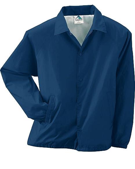 5c6f941bd Amazon.com: Augusta Sportswear Coach's Jacket 3100 (XL, Navy ...