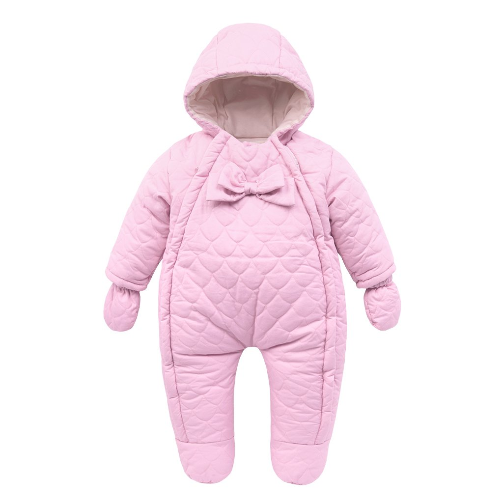Baby Snowsuits Infant Hooded Romper Winter Jumpsuit Onesies Winter Outfits F171013CPPF01V