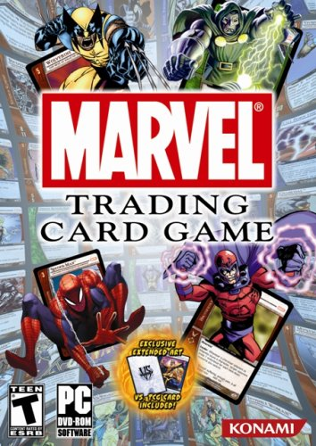 marvel trading card game cards - 1