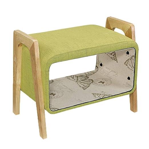 TT&D Muebles para el hogar Taburete de pie tapizado de ...