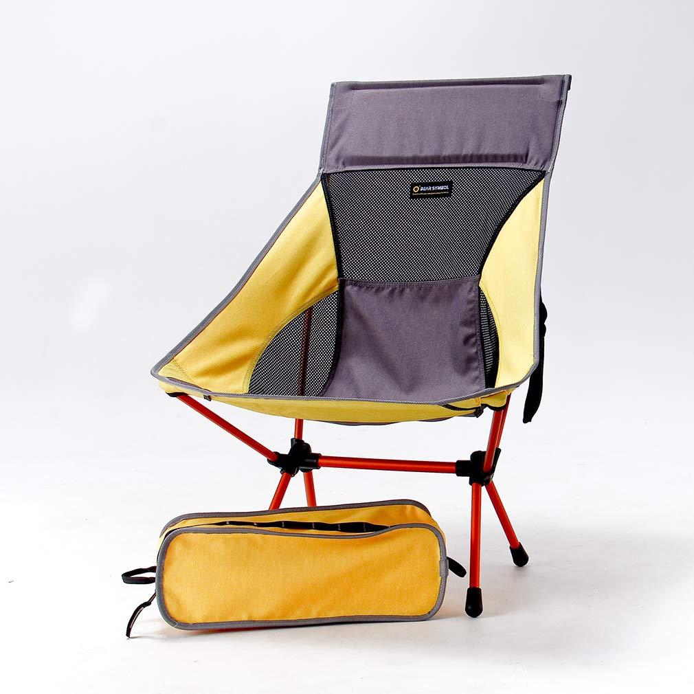 DUBAOBAO Camping Stuhl Ultraleichter Klappstuhl Im Freien Tragbarer Aluminium Campingstuhl In Der Luftfahrt Geeignet Für Den Heimgebrauch Und Outdoor-Aktivitäten