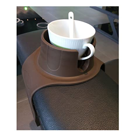 Charmant Couch Cup Holder Sofa Arm Rest Tray Table Fits Over Square Or Rounded Chair  Arms.