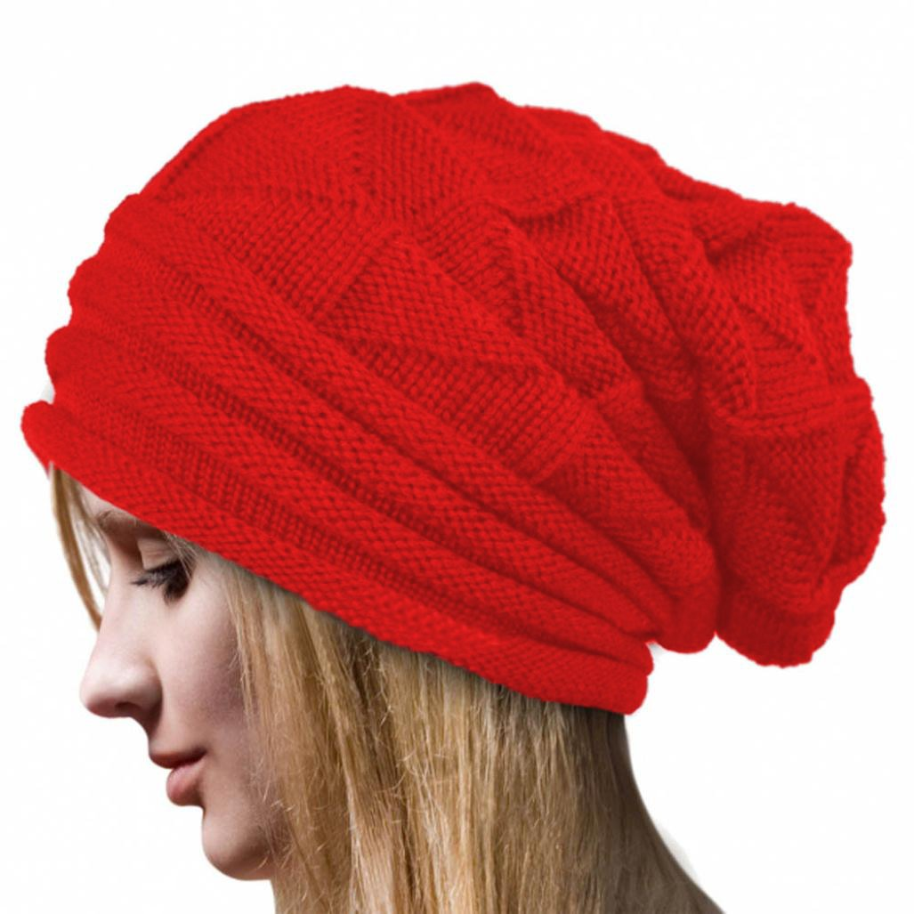 FEITONG New Women Lady Winter Warm Crochet Hat Beanie Caps FEITONG66 women hats