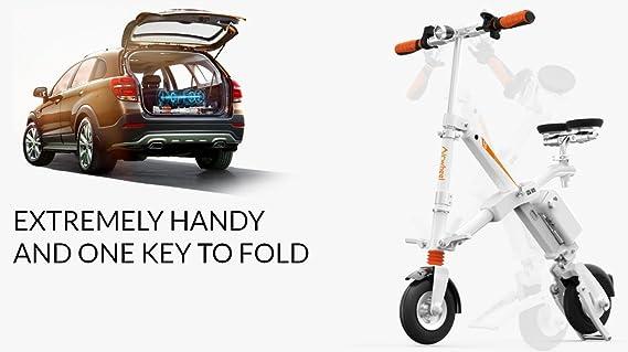 AIRWHEEL E6 bicicleta eléctrica con motor bicicleta plegable para: Amazon.es: Deportes y aire libre