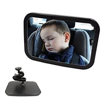 Amazon.com: Espejo fijo para coche para bebé, resistente ...