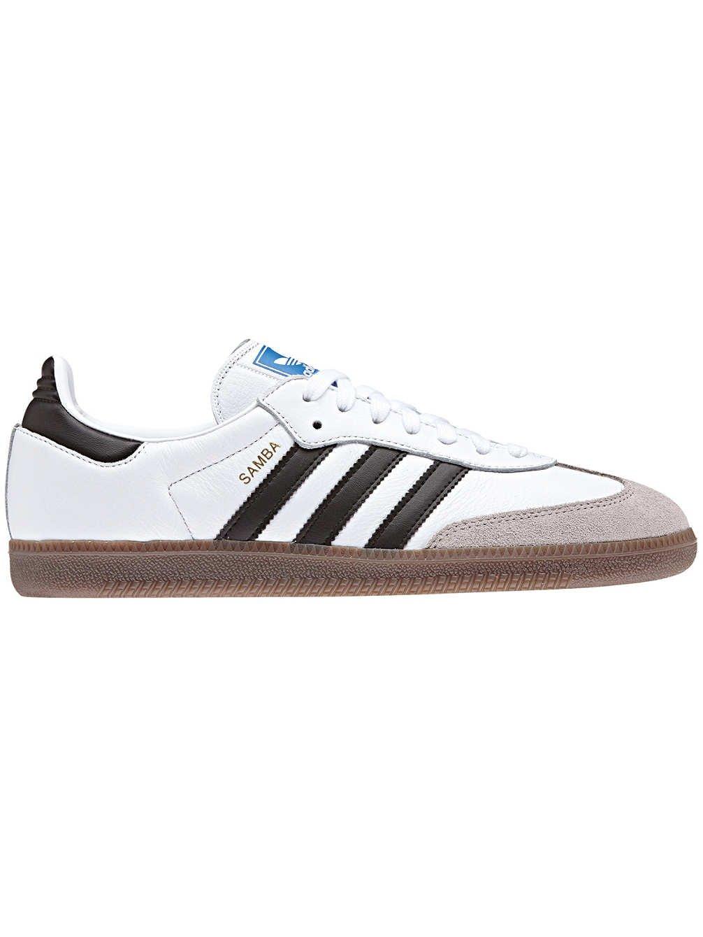 adidas Samba OG, Chaussures de Gymnastique Homme, Noir (Core Black/FTWR White/Gum5), 46 EU