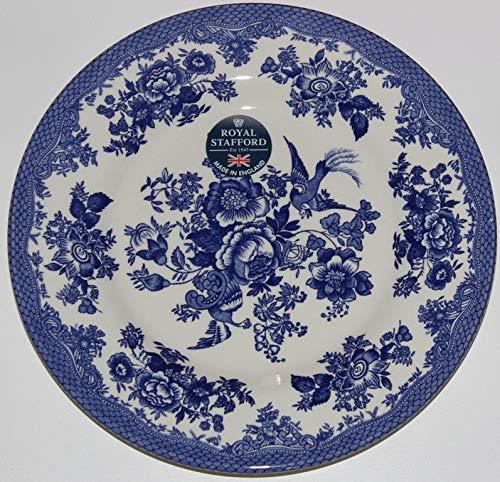 Royal Stafford Asiatic Pheasant Dark Blue 8-1/2