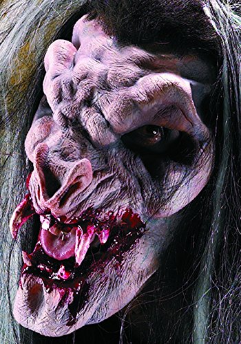 Vampire Prosthetic Makeup (Rubie's Prosthetic Demon Vampire Latex Face Piece Kit)