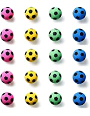EYLEER Pet Cat Foam Soccer Balls Cat Toys Interactive- Pack of 20
