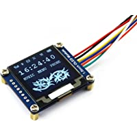 Waveshare 1.5inch OLED Display Module 128x128 Pixels 16-bit Grey Level with Embedded Controller Communicating via SPI or…