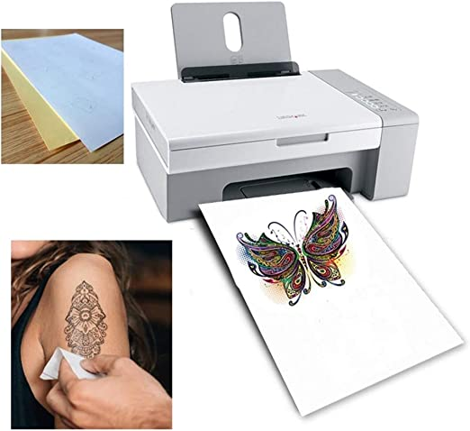 North cool Papel Tatuaje A4 DIY Arte De La Piel Impermeable ...