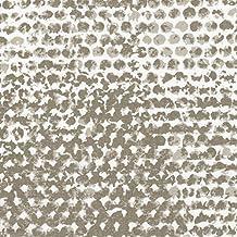 Zoey Cove Bradford Valance Geometric Taupe Cotton