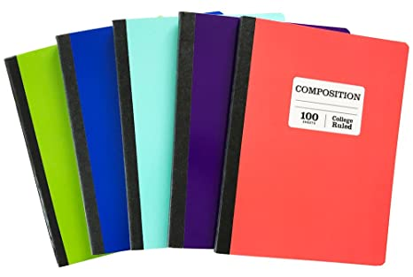 Amazon com : Norcom College Ruled Composition Notebook 100