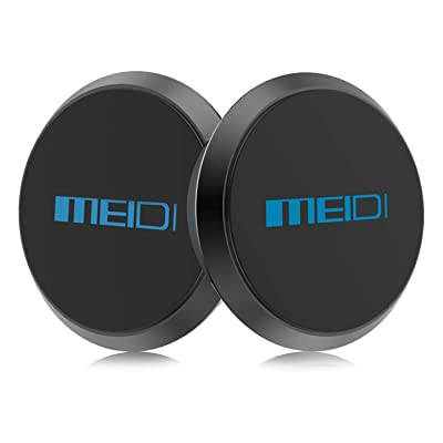 MEIDI Dashboard Phone Mount Magnetic Dashboard Cell Phone Holder 2 Packs Universal Flat Stick on Dashboard Compatible with iPhone X,8,7,6Plus, Samsung Galaxy S8,S7,S6Note, HTC, LG and More [5Bkhe0114106]