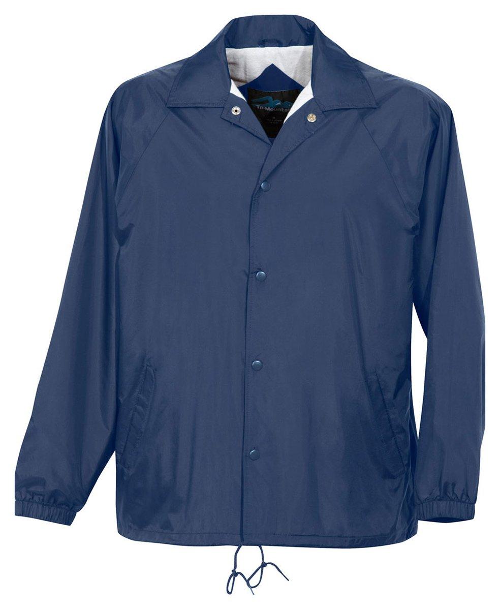 Tri-Mountain 100% Taffeta Nylon Lightweight Water-Resistant Jacket by Tri-Mountain