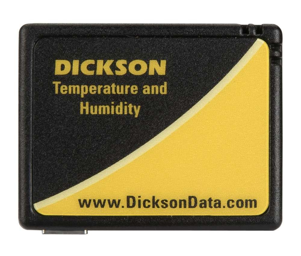 0-95/% RH Non-Condensing Humidy Range -4F to 158F Temperature Range Pack of 12 Dickson TK550 Compact Temperature and Humidity Data Logger