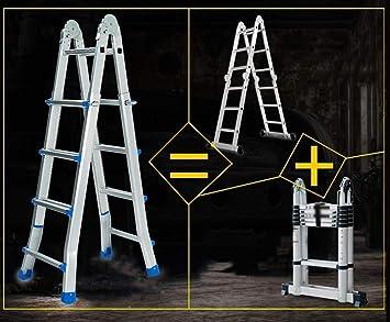Ladder Ladder 4 Step Little Giant Ladder - Escalera de Extensión de Usos Múltiples para Interiores Y Exteriores: Amazon.es: Bricolaje y herramientas
