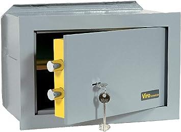 viro 4551.20 Caja Fuerte Mecánica casa Segura, Versión empotrable, 170 x 260 x 200 mm: Amazon.es: Bricolaje y herramientas