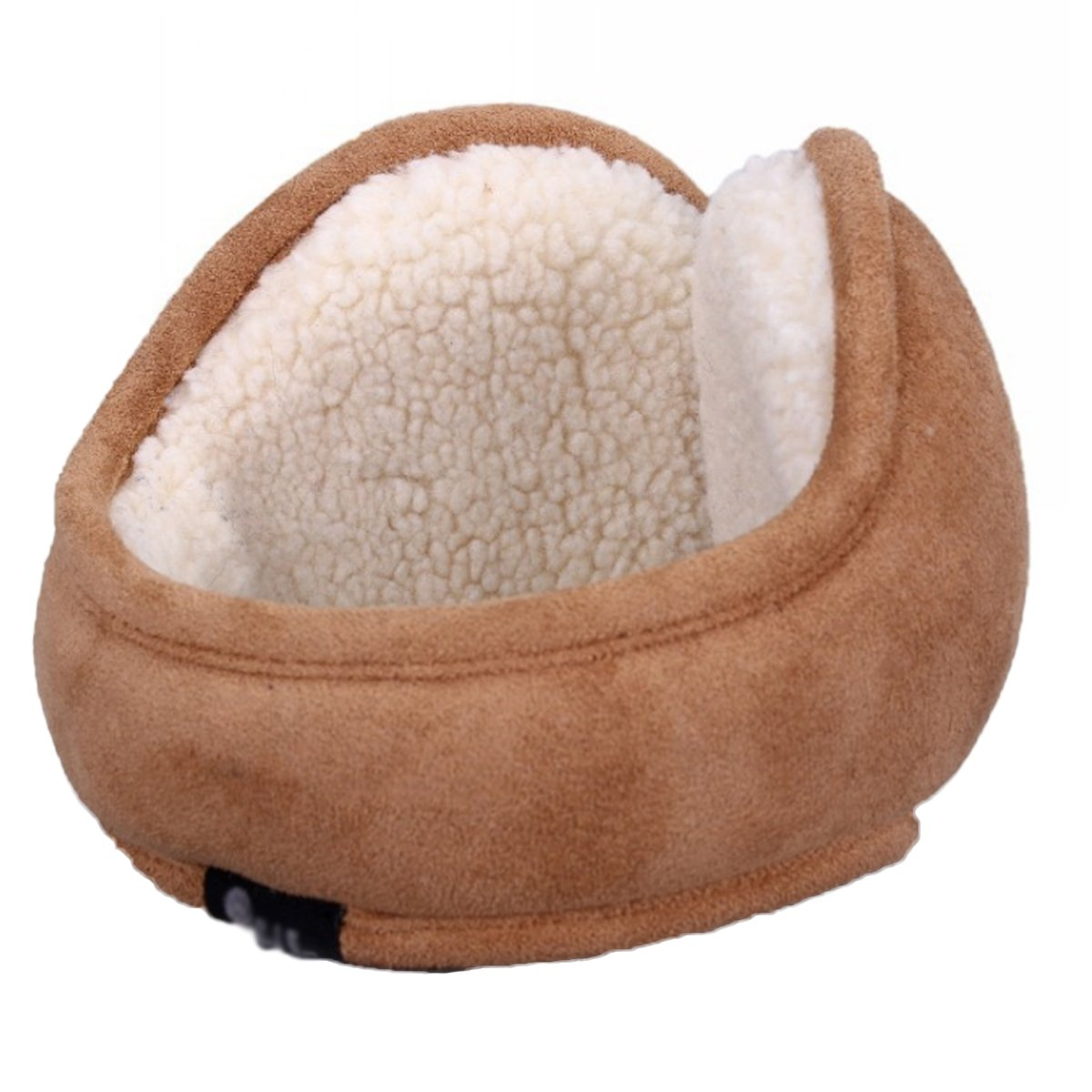 Surblue Winter Warm Earwarmer Knitted Earmuffs with Shearling Sheepskin ZL-EZ00-M