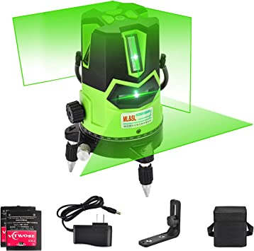 Remote 3D 16 Line 360° Rotary Self Leveling Rechargeable Laser Level Measure