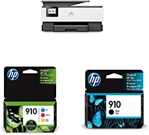 HP OfficeJet Pro 8035 All-in-One Wireless Printer - Basalt (5LJ23A) with Ink Cartridges - 4 Colors