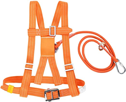 Arnés de Escalada, Medio Cuerpo Cinturón de Seguridad Ajustable ...
