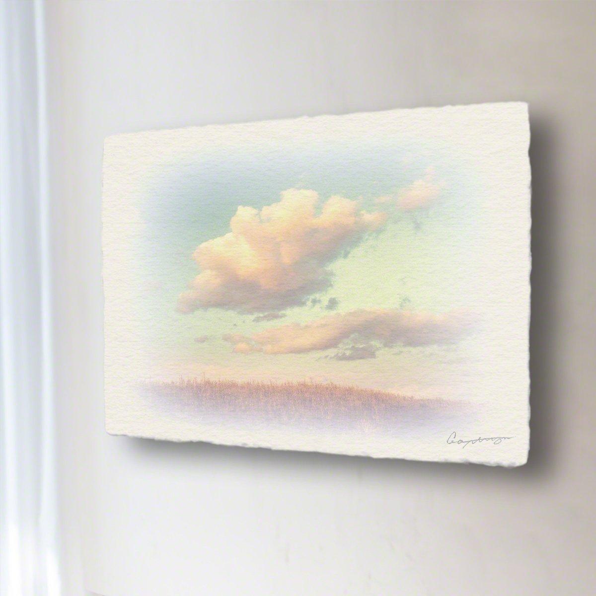和紙 アートパネル「葺原に浮かぶ夕暮れ雲」 (40x30cm) 絵 絵画 壁掛け 壁飾り インテリア アート B07BCCZ96H 14.アートパネル(長辺45cm) 18800円|葺原に浮かぶ夕暮れ雲 葺原に浮かぶ夕暮れ雲 14.アートパネル(長辺45cm) 18800円