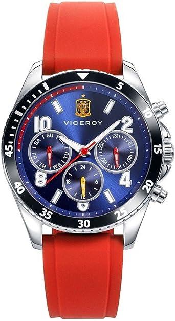 Reloj Viceroy Selección Española Oficial Multifunción 42340-35 + gorra de regalo: Amazon.es: Relojes