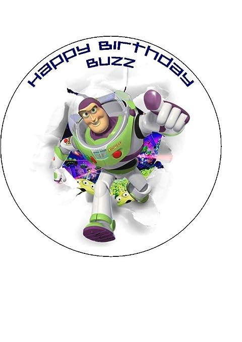 CTD Toy Story 4 | Buzz Lightyear decoración Redonda ...