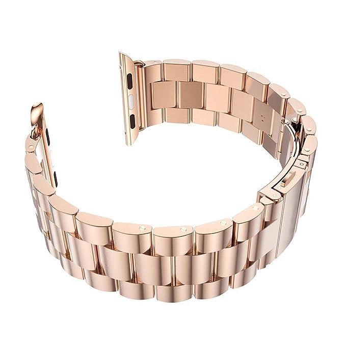 Apple Watch Series1, 2, 3 Watch Band mit Edelstahl-Metall ...