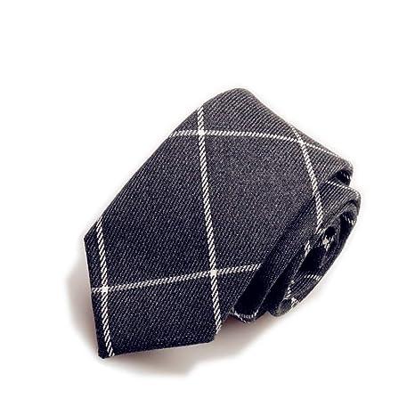 FDHFC Corbata Hombre Corbata Escocesa Corbata A Cuadros Invierno ...