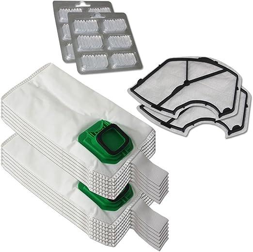 6 Filterbeutel Kobold VK 150 140 geeignet für Vorwerk 1 Motorschutz Filter