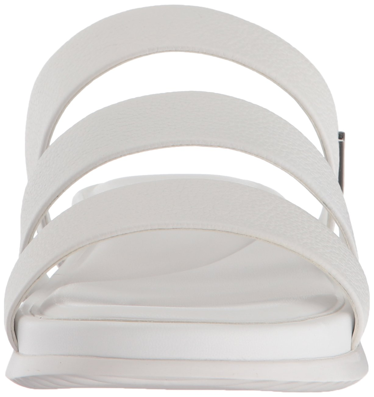 Calvin Klein Women's Dalana Slide Sandal B077J3M892 8 B(M) US|Platinum White