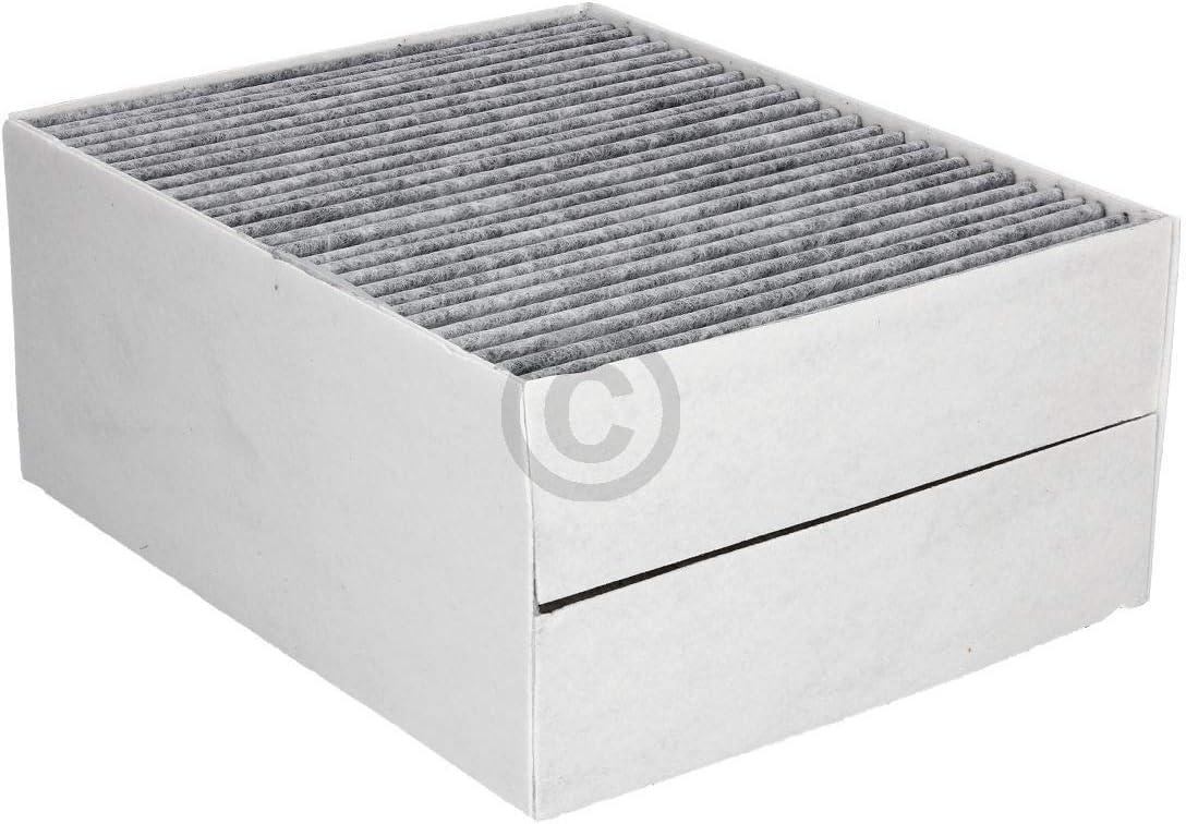 Filtro de carbón Clean Air de repuesto para Bosch Siemens Neff 11033934 / LZ56200 / DSZ5201 / Z5170X1 filtro de carbón activo de 225 x 190 mm para campana extractora accesorios