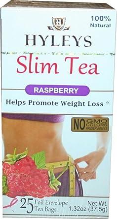 Hyleys Tea Slim Tea, Raspberry, 25 Tea Bags (1 Pack): Amazon.es ...
