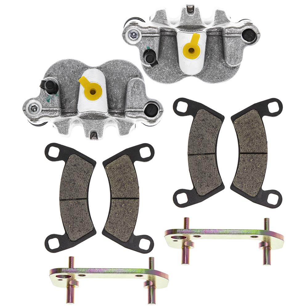 NICHE Front Left Right Brake Caliper Pad Set For 2009-2013 Polaris Ranger 500 700 1911632 1911631 1911349 by Niche
