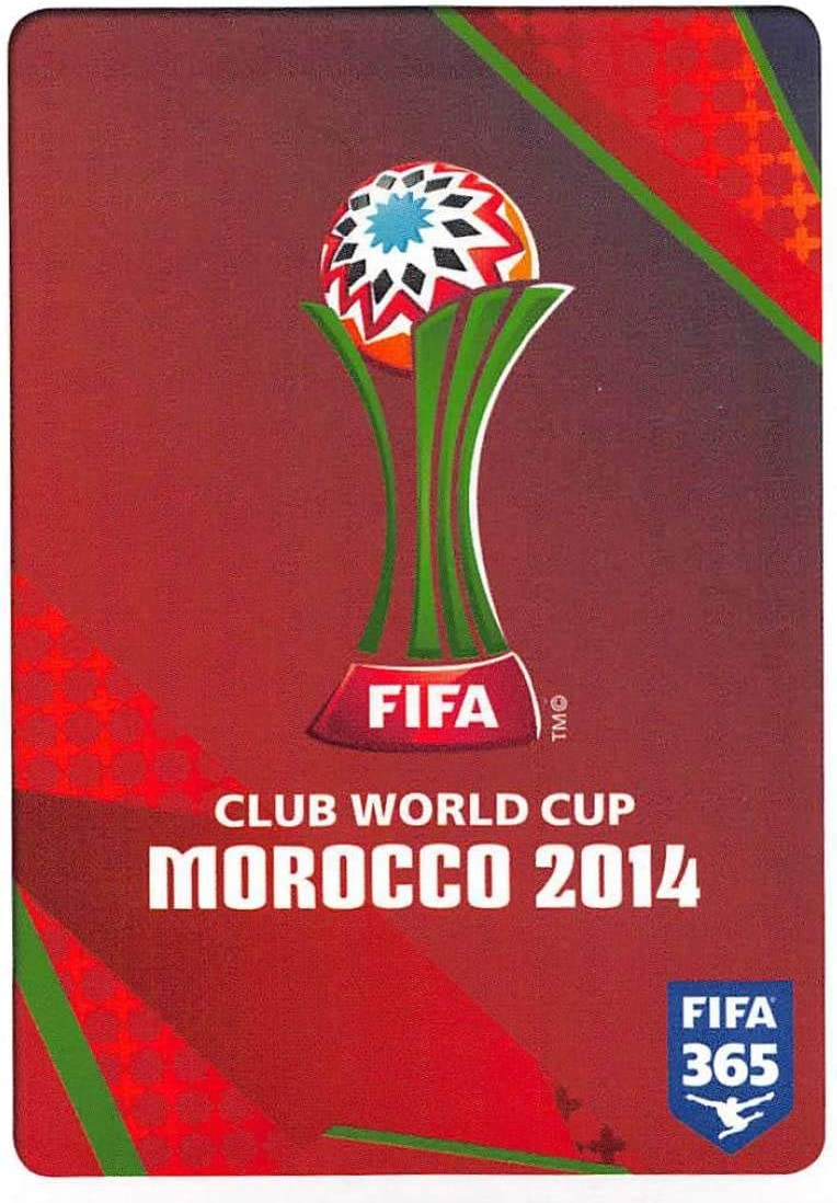 Amazon Com 2015 16 Panini Fifa 365 Stickers Soccer 10 Logo Fifa Club World Cup Morocco 2014 Trading Card Sized Album Sticker Collectibles Fine Art
