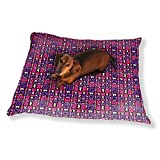Jazzy Patch Dog Pillow Luxury Dog Cat Pet Bed