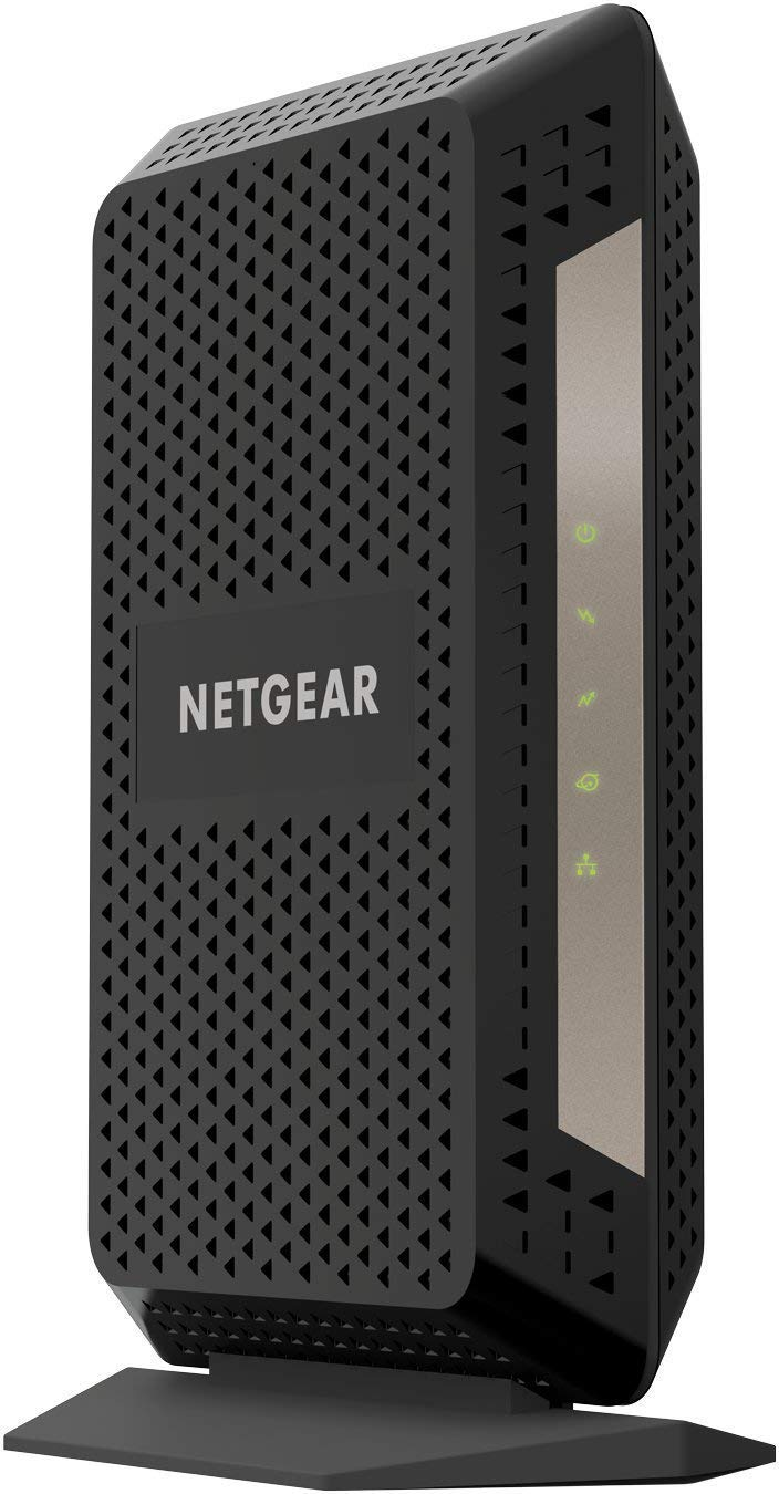 NETGEAR Gigabit Cable Modem (32x8) DOCSIS 3.1 | for XFINITY by Comcast, Cox. Compatible with Gig-Speed from Xfinity - CM1000-1AZNAS (Renewed) by NETGEAR