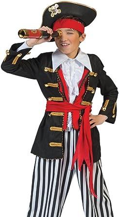 Das Kostümland Mar Ladrones Jackson Disfraz Pirata para Niños ...