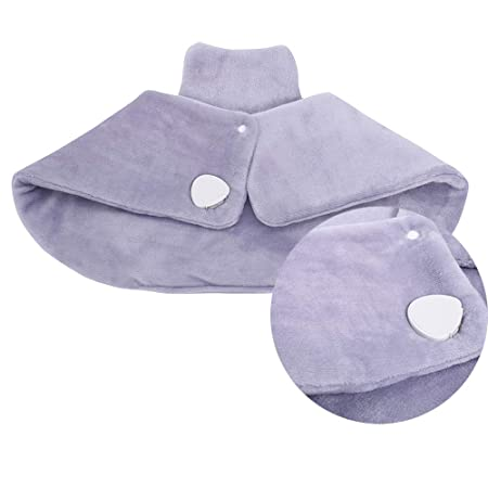 "Amazon.com: Neck and Shoulder Heating Pad Heat Therapy Wrap with 3 Temperature Settings,Overheating Protection and Automatic Switch-Off,18""x 25"" (Violet): ..."