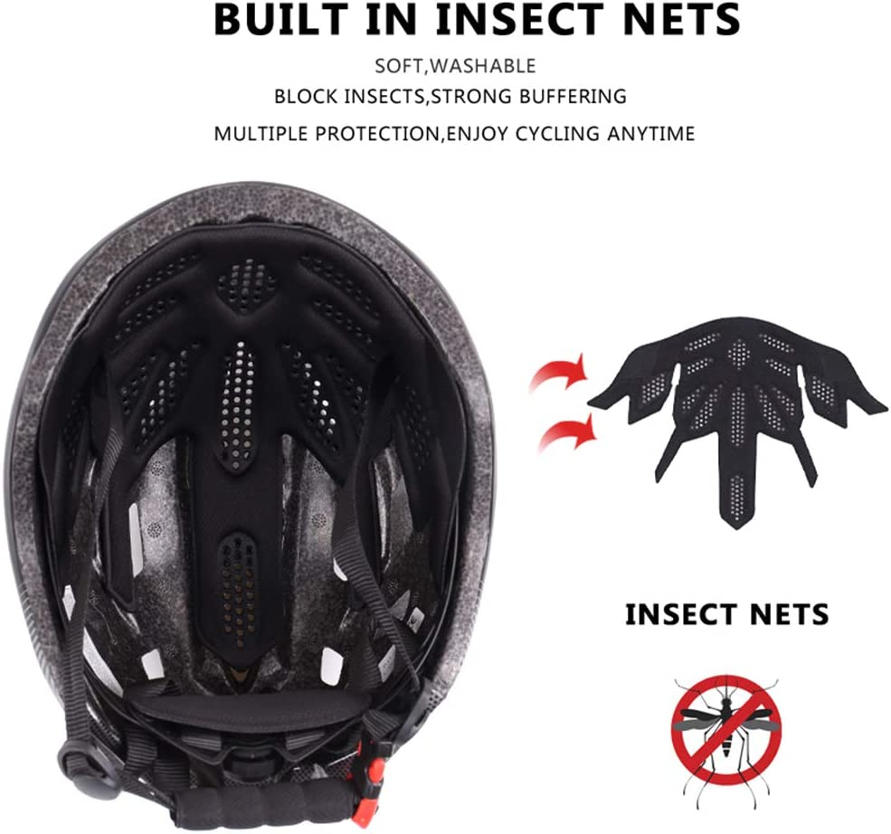 Fahrradhelm ZWRY Fahrradhelm Eps Insect Net Road MTB Fahrradhelm 2