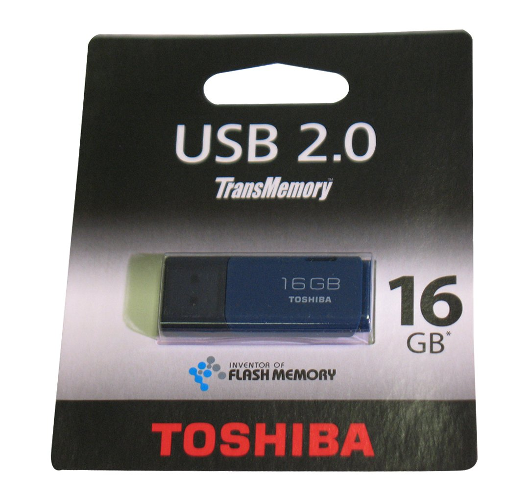 Toshiba THNU16HAYBL-BL5 - Memoria USB de 16 GB: Amazon.es: Informática