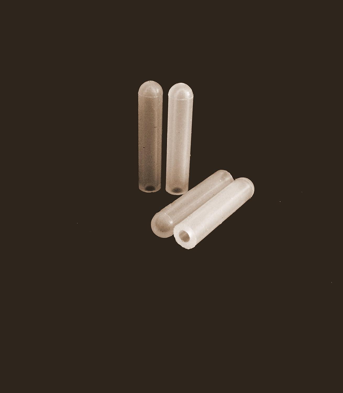 50 Stü ck hoher Temp Silikon Gummi Endkappen –  2,77 mm x 25,4 mm, ideal fü r die Pulverbeschichtung und High Temp-Maskierung Vital Parts SIC016