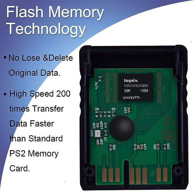 Playstation 2 PS2 Memory Card 128MB 128MB Memoria para ...