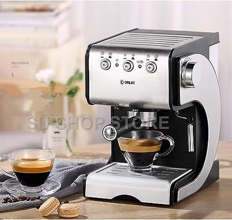 KOUDAG Cafetera 20 Bares Bomba 1.5Liter Tanque de Agua Máquina de café Oficina en el hogar Máquina de café Espresso Semi-Automatic Office Comercial: Amazon.es: Hogar
