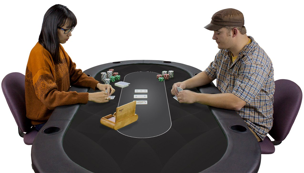 Amazon.com : Brybelly Sublimation Poker Table Felt For Casino Quality Tables,  Black : Sports U0026 Outdoors