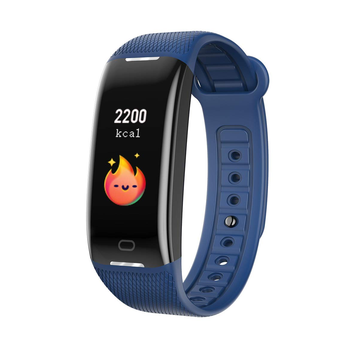 WLLIT Smart Sports Watch/Smart Bracelet,Smart Sports Watch, Blood Pressure Heart Rate Sleep Step Monitoring, Waterproof Bluetooth Health Sports Bracelet-Blue by WLLIT